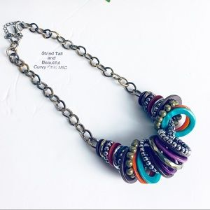 Jewelry - Statement Multi-Color Necklace